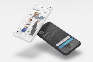 优雅的移动电商app界面设计模板