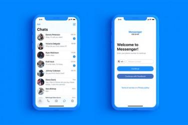 聊天社交app界面设计模板