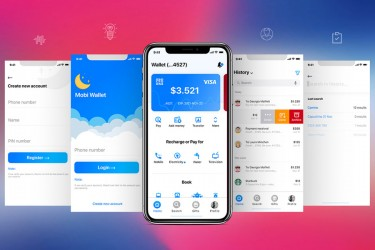 银行金融类app界面设计UI kit
