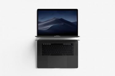 MacBook Pro顶视图样机