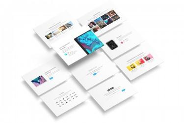 slides网页设计资源包