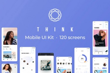 多用途iPhone X app页面设计模板