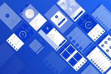 超齐全的iOS线框图模板