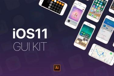 苹果iOS11 界面设计矢量套件