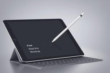 免费的iPad Pro MockUp样机
