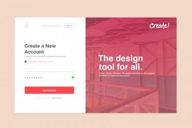 网页登录界面设计灵感