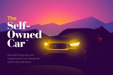 未来感的电动汽车插画素材