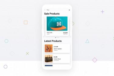 设计精美的安卓app界面设计模板