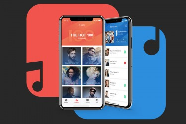音乐新闻app界面设计UI kit套件