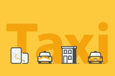 44个出租车相关的交通图标素材