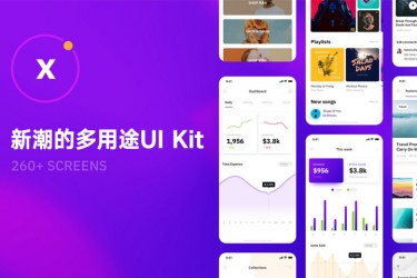 新潮的多用途iOS UI Kit