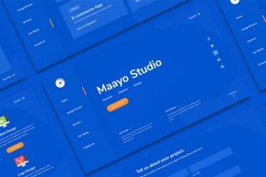 创意设计工作室的网站模板