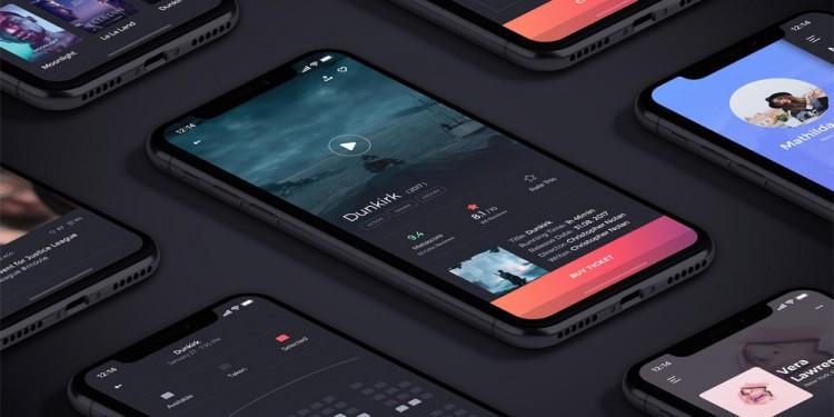 电影购票app界面设计模板