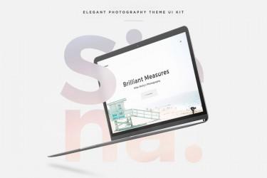 摄影网站的网页设计模板