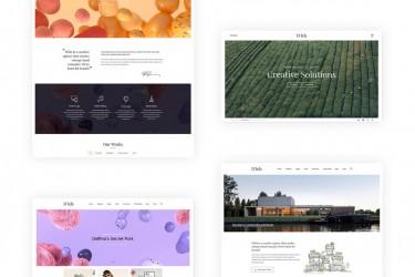 多功能创意网页设计模板