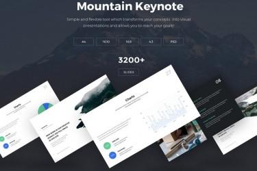 现代创意的keynote商务模板