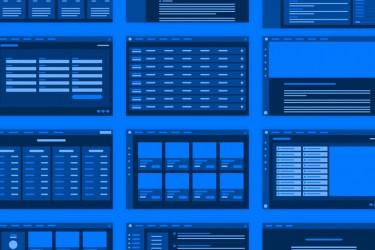 网站后台UX线框流程图素材