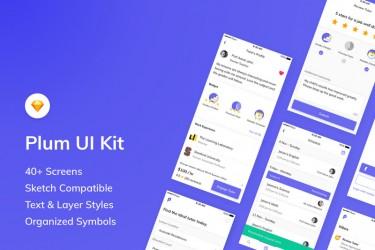 找家教app的界面设计素材模板