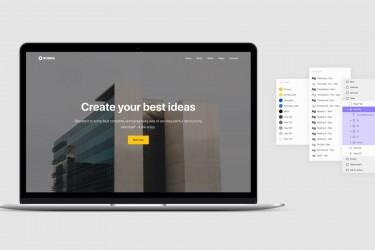 Figma格式网页设计模板素材