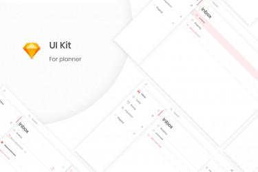 任务管理页面的ui设计模板素材