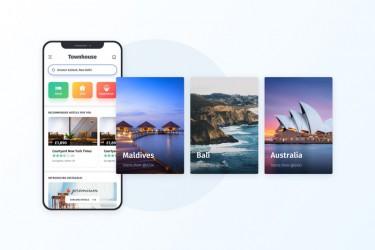 类似airbnb的民宿活动预定app ui设计模板