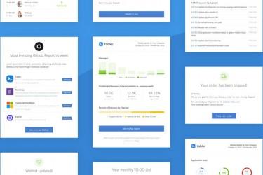 50个html格式的电子邮件模板