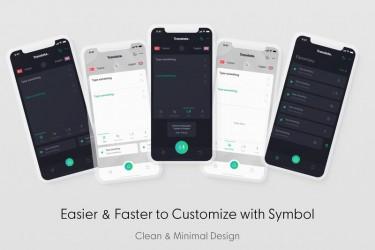 翻译app的界面设计模板