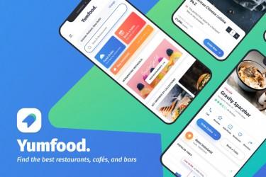 类似大众点评app的界面设计模板