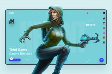 12款超赞的游戏头图网页设计