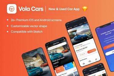 买车租车app界面ui设计模板