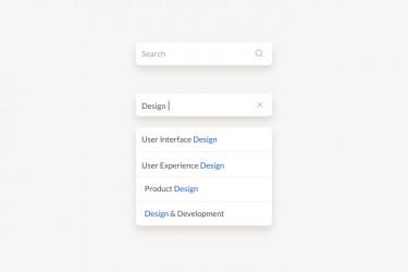 关于搜索框设计的思考