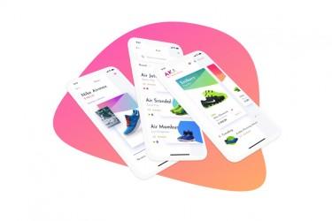 卖鞋的app界面设计模板
