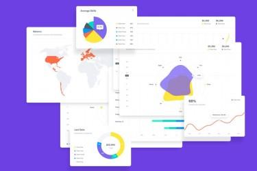 创意信息图表设计模板素材