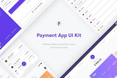 财务金融类网页及app界面设计模板