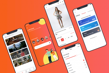时尚的sketch格式电商app ui设计模板