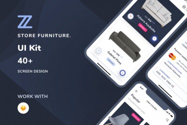 家具类电商app界面设计模板