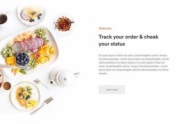 一组优秀美食网页设计欣赏