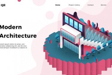 13个房地产建筑相关的ai插画素材