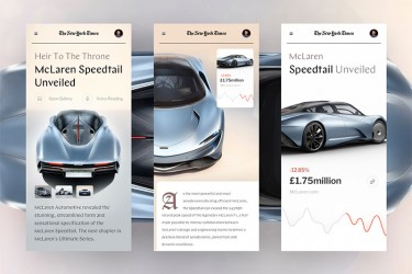 汽车相关的app界面设计欣赏