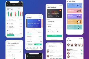 银行App UI 设计套件
