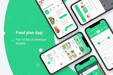 美食社交app界面设计模板