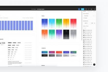 现代感的UI设计规范系统