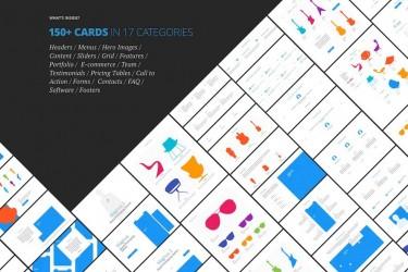 专为登陆页面设计的150多个核心UX模板
