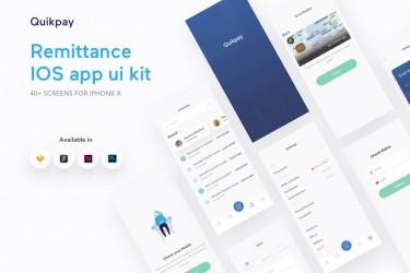 个人理财转账app界面设计模板