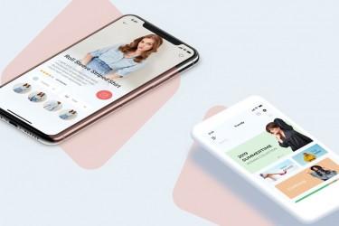 时尚购物APP UI/UX设计模板