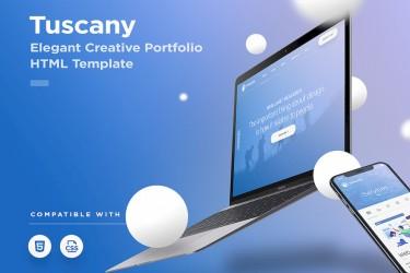 创意公司企业网站html设计模板