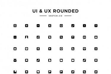 用途广泛的ui/ux图标集素材