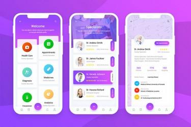 医疗健康管理App界面设计赏析