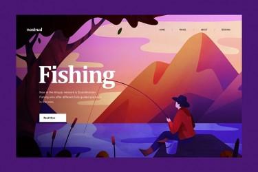 插画在网页设计应用中的案例欣赏
