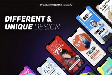 时尚的APP广告视频特效模板